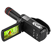 Other プラスチック 多機能カメラ 1080P / 抗衝撃 / 笑顔検出 / タッチスクリーン ブラック