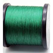 1000M / 1100 Patios Hilo trenzado PE / Dyneema Sedal Verde Oscuro 80LB / 60LB / 100LB / 70LB 0.37mm,0.40mm,0.45mm,050mm mm ParaPesca de