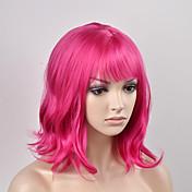 europskih i američkih žena modni kruška glava crvena kratka kosa visoka temperatura žice perika