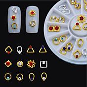 1 Nail Art Dekorace drahokamu Pearls make-up Kosmetické Nail Art design