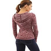 ヨーロッパやアメリカでのAliexpressのeabyの爆発モデル新しい厚い綿のかぎ編みレーススリーブフード付きTシャツスポット