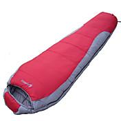 寝袋 マミー型 シングル 幅150 x 長さ200cm -15-20 T/Cコットン80 ハイキング キャンピング 旅行 狩猟 屋外 防湿 通気性 速乾性 防風性 携帯式
