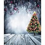 クリスマス背景写真スタジオの写真撮影の背景5x7ft