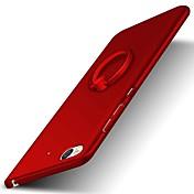 のために バンカーリング ケース バックカバー ケース ソリッドカラー ハード PC のために XiaomiXiaomi Mi Max Xiaomi Redmi Note 4 Xiaomi Redmi Note 2 Xiaomi Mi 5s Xiaomi Mi 5s