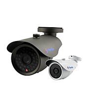 yanse® 1000tvl 8 mm de aluminio del metal de la cámara D / N del CCTV IR 36 LED de seguridad a prueba de agua con cable f278cf
