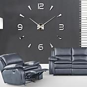 コンテンポラリー オフィス 学校/卒業 友達 家族 壁時計,ノベルティ柄 アクリル 100*100 屋内 クロック