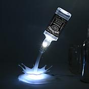 usbのバッテリー夜の光充電式USBは夜の光、空のワインボトルランプ主導注ぐノベルティDIYの主導テーブルランプホームロマンチック