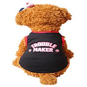 犬用品 ベスト レッド ブラック 犬用ウェア 夏 文字&番号 ファッション