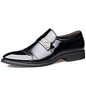 Hombre Zapatos Cuero Primavera Verano Otoño Invierno Botas de Moda Zapatos formales Confort Oxfords Remache Para Casual Fiesta y Noche