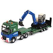 Vehículo de construcción Juguetes Juguetes de coches 1:50 Metal ABS Plástico Verde Modelismo y Construcción