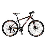 Bicicleta de Montaña Ciclismo 27 Velocidad 26 pulgadas/700CC SHIMANO M370 Disco de Freno Sin AmortiguadorCuadro de Aleación de Aluminio
