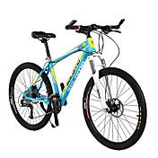 Bicicleta de Montaña Ciclismo 27 Velocidad 26 pulgadas/700CC Unisex Adulto Shimano Disco de Freno Horquilla de suspenciónCuadro de