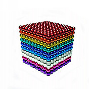 Juguetes Magnéticos 512 Piezas 5 MM Juguetes Magnéticos Bloques de Construcción Bolas magnéticas Juguetes ejecutivos rompecabezas del cubo