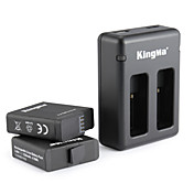 KingMa® Charger バッテリー For GoProヒーロー5 ダイビング バイク