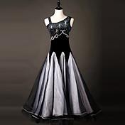 Debemos bailar los vestidos de danza mujeres vestido de organza de rendimiento