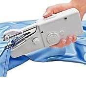 nuevo hogar portátil puntada práctica minicentral eléctrica de la máquina de coser de mano