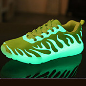 Uniseks Sneakers Proljeće Ljeto Jesen Zima Udobne cipele Inovativne cipele Svjetlosni obuće PU Aktivnosti u prirodi Ležeran AtletikaRavna