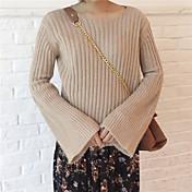 firmar artículo cuerno suéter de la manga alrededor del cuello de ken nett