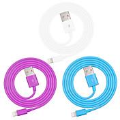 IMF manzana certificada del rayo para el cable del cargador de datos USB de sincronización para iPhone 7 6s 6 Plus SE 5s 5 / ipad (100 cm)