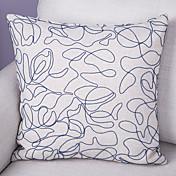 1 個 ポリエステル 枕カバー,装飾&刺繍 ユーロ