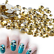 500-600pcs/bag Decoración de uñas Las perlas de diamantes de imitación maquillaje cosmético Dise?o de manicura