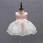 赤ちゃん パーティー パッチワーク ポリエステル,ドレス オールシーズン ピンク