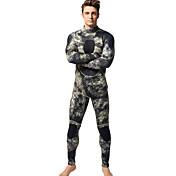 MYLEDI Hombre 3mm Trajes térmicos Traje de neopreno completo Impermeable Mantiene abrigado Listo para vestir Cremallera YKK NeoprenoTraje
