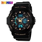 Herre Dame Unisex Sportsur Kjoleur Skeletur Modeur Armbåndsur Digital Watch Quartz Digital Silikone Bånd Charm Armbånd Afslappet