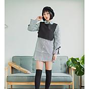 Signo primavera nuevo viento de la universidad harajuku ropa chaleco de dos piezas