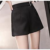 Signo primavera 2017 mujeres nuevas cintura alta una palabra pone en cortocircuito pierna ancha pantalones ocasionales desgaste exterior