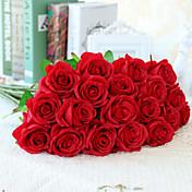 10 Podružnica Svila Roses Umjetna Cvijeće 55