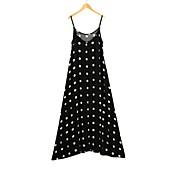 AliexpressのeBayのアマゾン販売波ポイントハーネスドレスの気質大きなスイング