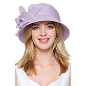 Mujer Primavera Verano Otoño Vintage Bonito Fiesta Casual Poliéster Sombrero Playero Sombrero Floppy,Retazos