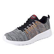 運動靴は、快適な光ソールは屋外アスレチックカジュアルレースアップをチュール秋春