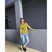 緩い穴のジーンズは女性の夏は薄い薄い乞食パンツビッグBF風の穴のジーンズでした