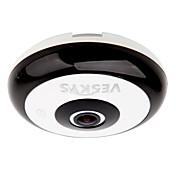 veskys® 360 stupňů hd zabezpečení full view ip sítě wifi kamera 1,3 fisheye