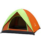 3-4 osoby Stříška jeden pokoj Camping Tent Dobře větraný Přenosný-Kempink-Modrá Fialová