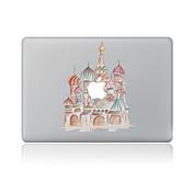 1枚 傷防止 風景 透明ベースプラスチック ボディーステッカー パターン のためにMacBook Pro 15'' with Retina MacBook Proの15 '' MacBook Pro 13'' with Retina MacBook Proの13 ''