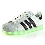Chico-Tacón Bajo-Primeros Pasos Zapatos con luz Zapato luminosa-Zapatillas de deporte-Exterior Informal Deporte-PU-