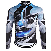Fastcute Camisa para Ciclismo Homens Mulheres Crianças Unisexo Manga Longa Moto Pulôver Camisa/Roupas Para Esporte Blusas Térmico/Quente