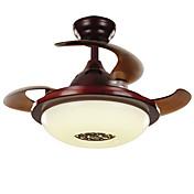 Ventilador de techo ,  Tradicional/Clásico Rústico/Campestre Cosecha Retro Campestre Níquel Característica for LED MetalSala de estar