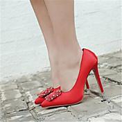 MujerConfort-Sandalias-Informal-PU-Rojo Verde