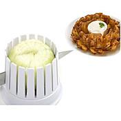 1 stk Løg Skæreredskab For For Køkkenredskaber Plastik Høj kvalitet Kreativ Køkkengadget