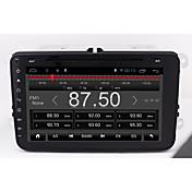 無料のアンドロイド6.0 ram2g rom16g 4核1024 * 600サポートwifi 4gインターネットトラフィック記録passat golf tiguan volkswagen universal bluetooth radio