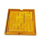Bloques de Construcción Puzzles de Madera Para regalo Bloques de Construcción Madera Natural 6 años de edad en adelante 3-6 años de edad