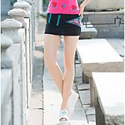Mujer Vacaciones Mini Faldas,Línea A Verano Un Color Estampado