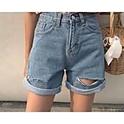 レディース ストリートファッション ハイライズ リラックス マイクロエラスティック ジーンズ パンツ ゼブラプリント