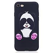 Para iPhone X iPhone 8 Carcasa Funda Diseños Cubierta Trasera Funda Animal Oso Panda Suave TPU para Apple iPhone X iPhone 8 Plus iPhone 8