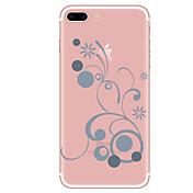 ケースfor iphone 7 7 plus flower pattern tpuソフトカバーiphone 6 plus 6s plus iphone 5 se 5s 5c 4s