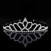 Cristal Brillante Legierung Celada-Boda Ocasión especial Fiesta/Noche Tiaras Bandas de cabeza 1 Pieza
